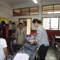 "Distribution of School Uniforms • <a style=""font-size:0.8em;"" href=""http://www.flickr.com/photos/124758168@N06/15448003334/"" target=""_blank"">View on Flickr</a>"
