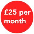 25 per month